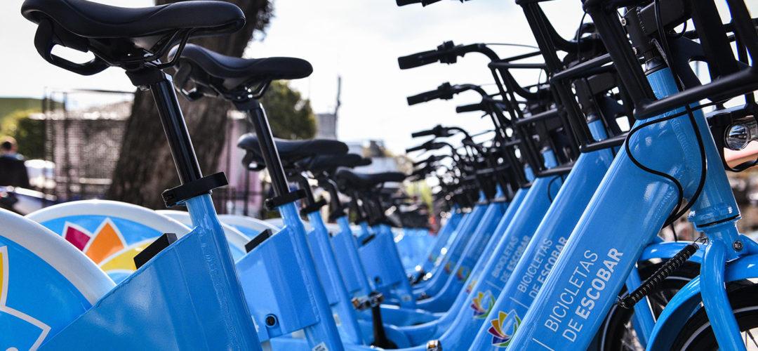 Escobar: el sistema público de bicicletas suma 34 estaciones, funciona todos los días y ahora es pago